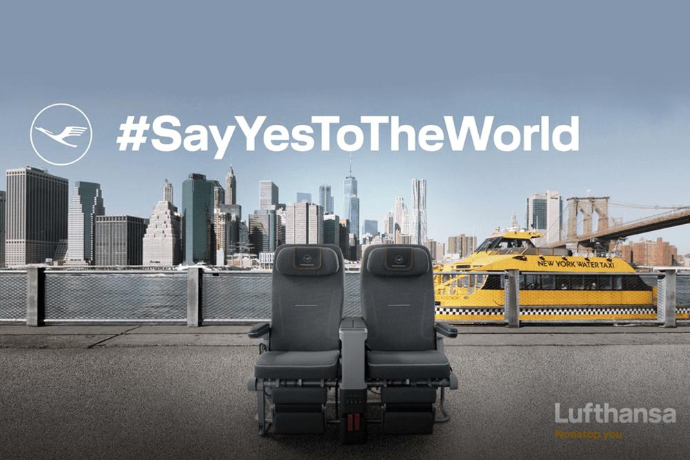 #SayYesToTheWorld Lufthansa