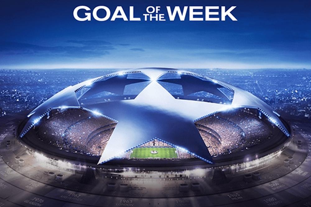 gol-of-the-week nissan Uefa Champions League