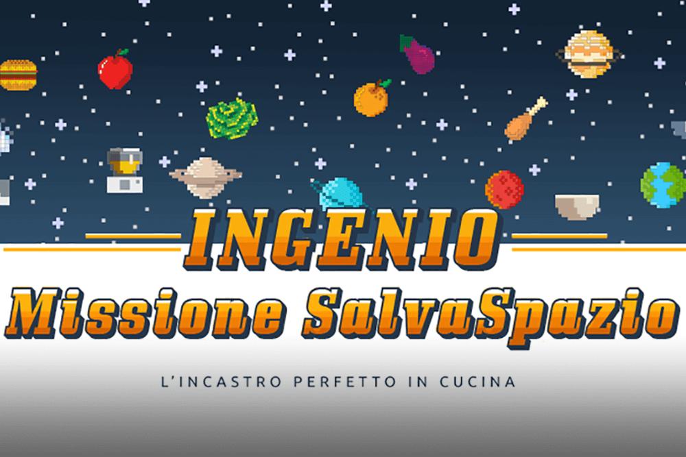 Ingenio - Missione Salvaspazio lagostina