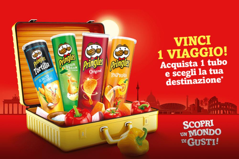 Win a trip Pringles