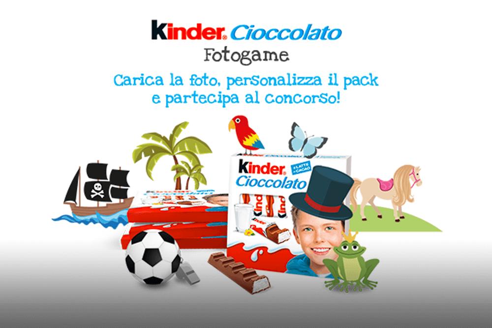 Kinder Cioccolato Fotogame